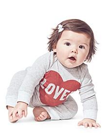 Baby Boys & Girls 3-Pc. Cotton Love T-Shirt, Bodysuit & Pants Set