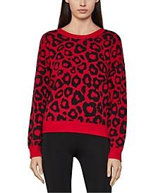 Leopard-Print Sweater