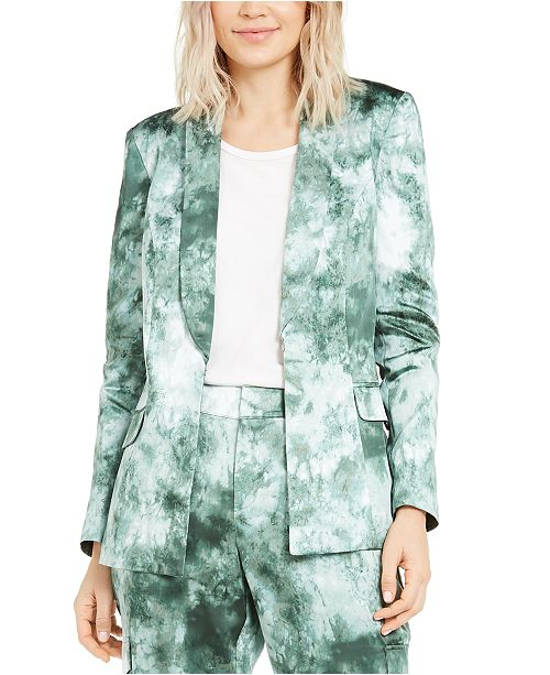 INC International Concepts INC Tie-Dye Blazer, Created For Macy's