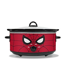 Marvel Spiderman 7 Quart Slow Cooker With Removable Ceramic Bowl