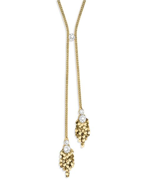 ZAXIE by Stefanie Taylor Wrapped in Luxe Sequin Y-Necklace