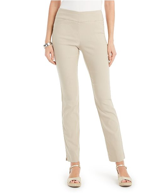 Charter Club Cambridge Straight-Leg Pants, Created for Macy's