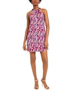Trina Trina Turk JuJu Bow-Back Halter Dress