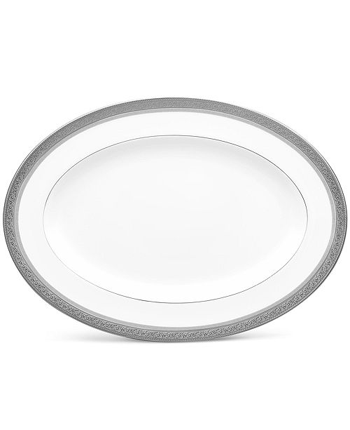 Noritake Summit Platinum Oval Platter, 14""