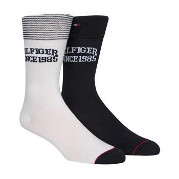 2-Pack Tommy Hilfiger Mens Logo Socks