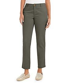 Petite Straight-Leg Chino Pants, Created for Macy's