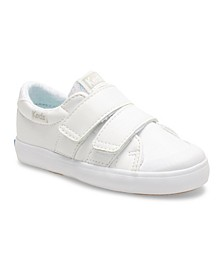Infant, Toddler and Little Girl Courtney Hook and Loop Sneaker