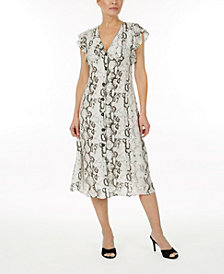 Laundry by Shelli Segal Printed dress