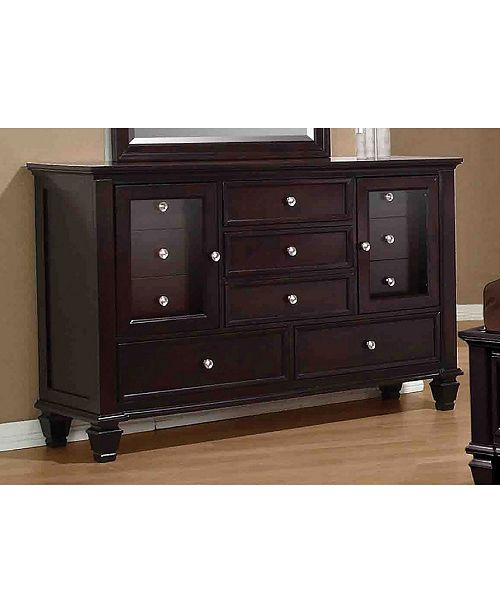 Coaster Home Furnishings Sandy Beach 11-Drawer Dresser
