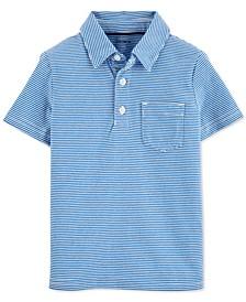 Little & Big Boys Cotton Striped Polo Shirt