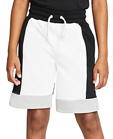 Big Boys Colorblocked French Terry Shorts