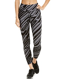 Logo-Print High-Rise Leggings