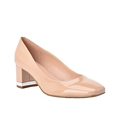 Claire Block Heel Pumps
