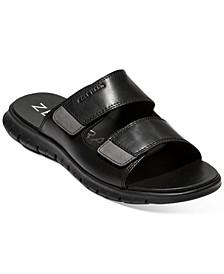 Men's ZERØGRAND Multistrap Slide Sandals