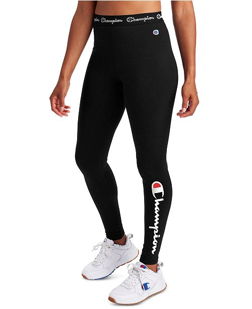 Champion Women's Authentic Logo Leggings