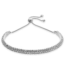 INC Crystal Bolo Bracelet, Created for Macy's