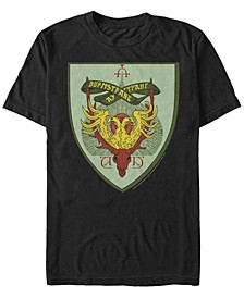 Harry Potter Men's Durmstrang Crest Short Sleeve T-Shirt