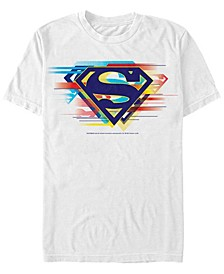 DC Men's Superman Multi Logo Short Sleeve T-Shirt