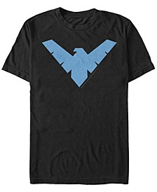 DC Men's Batman Nightwing Logo Short Sleeve T-Shirt