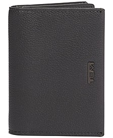 Men's Gusseted Leather Card Case