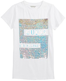 Big Girls Reversible-Sequin T-Shirt