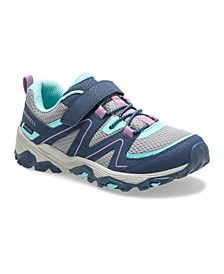 Kids Toddler, Little and Big Girl Trail Quest Washable Sneaker
