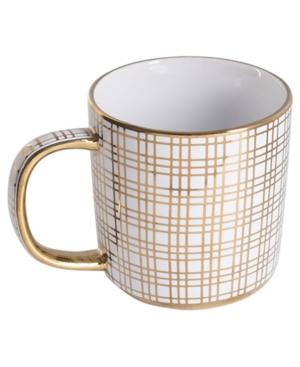 Home Essentials Gold Wave Mug