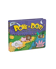 Melissa Doug Children's Book - Poke-a-Dot: Goodnight, Animals Board Book with Buttons to Pop