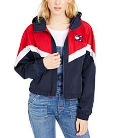Tommy Jeans Hooded Windbreaker Jacket