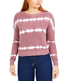 Cotton Striped Tie-Dyed Sweater, Created for Macy's