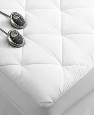 The Premium Heated mattress pads from Slumber Rest provide lofty warmth and soothing comfort throughout the night. Features a 7\ Sunbeam Mattress Pads -