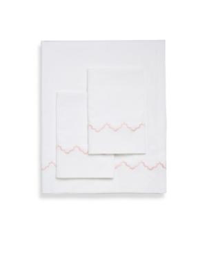 Belle Epoque 300 Tc Francesaca Scalloped Sheet Set, King Bedding