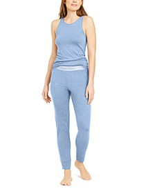Lightweight Tank & Jogger Pants Pajama Set