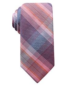 Men's Preston Plaid Slim Tie, Created for Macy's