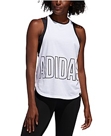 Women's Alphaskin Logo Racerback Tank Top