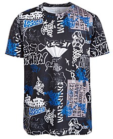 Big Boys Graffiti-Print T-Shirt, Created For Macy's