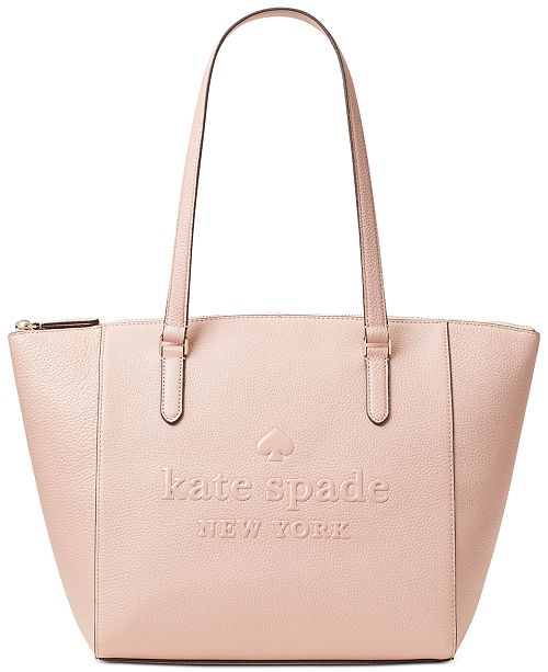 kate spade new york Sienne Leather Logo Tote