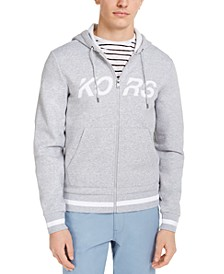 Men's Full-Zip Fleece Logo Hoodie