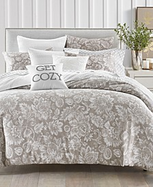 Jacobean 300-Thread Count Bedding Collection, Created for Macy's