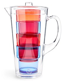 Americana Acrylic Pitcher 5-Pc. Set, Created for Macy's