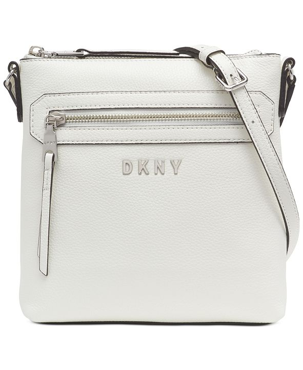 DKNY Tappen Leather Crossbody, Created for Macy's