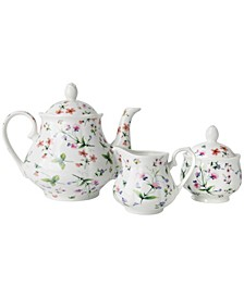CLOSEOUT! Butterfly Rose 3 pc Tea Gift Set, Created for Macy's