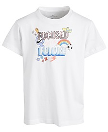 Big Girls Focused on the Future Cotton T-Shirt