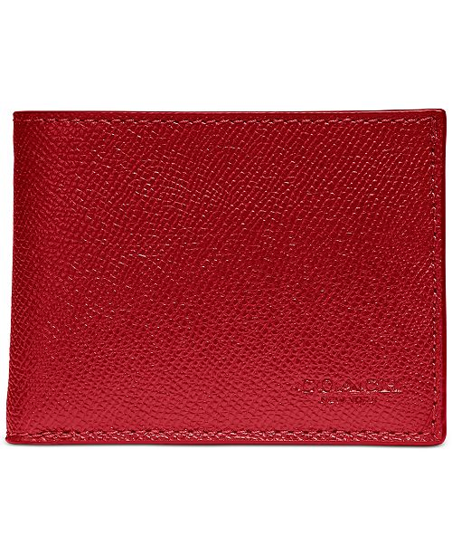 COACH Men's Slim Leather Wallet