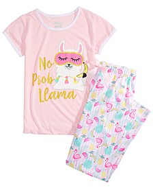 Big Girls No Probllama Pajamas Set