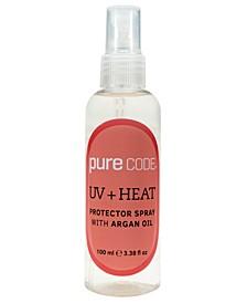 UV + Heat Protector Spray with Argan Oil, 3.38 Ounce
