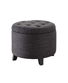 Designs4Comfort Round Ottoman