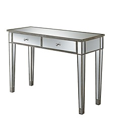 Gold Coast Mirrored Desk