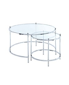 Royal Crest Nesting Round Coffee Table