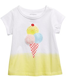 Baby Girls Ice Cream-Print T-Shirt, Created for Macy's